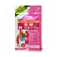 Kobayashi Pharmaceutical Folic Acid, Iron, Calcium,