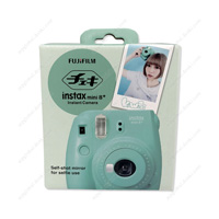 FUJIFILM Instant Camera, Cheki instax mini 8+, Mint
