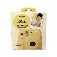 FUJIFILM Instant Camera, Cheki instax mini 8+, Honey