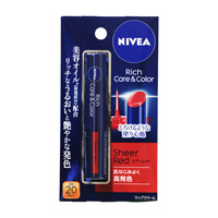 Nivea Rich Care & Color Lip, Sheer Red