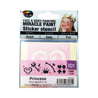 Miracle Paint Stencil, Princess Assortment