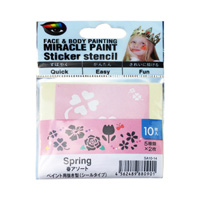 Miracle Paint Stencil, Spring (Flower) Assortment