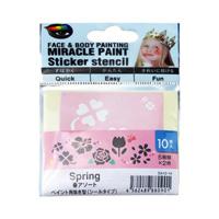 Miracle Paint 专用模板贴纸 春天