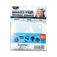Miracle Paint 专用模板贴纸 夏天
