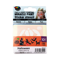 Miracle Paint Stencil, Halloween Assortment