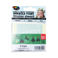Miracle Paint 专用模板贴纸 圣诞节