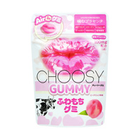 CHOOSY GUMMY, Peach Milk Style Flavor