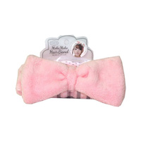 Fluffy Hair Band, Powder Pink