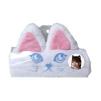 Cat Ear Hair Band, White Cat