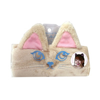 Cat Ear Hair Band, Orange Tabby