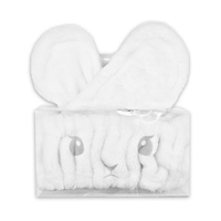 Rabbit Ear Hair Band, White