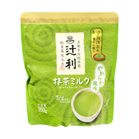 Tsujiri Matcha Tea Milk, Mild Flavor