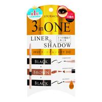 Jourmoe 3WAY Eyeliner & Shadow, 01 Black