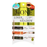 Jourmoe 3WAY Eyeliner & Shadow, 04 Khaki