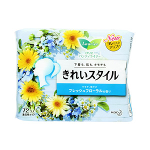 Laurier Pantyliner Beauty Style, Fresh Floral Fragrance