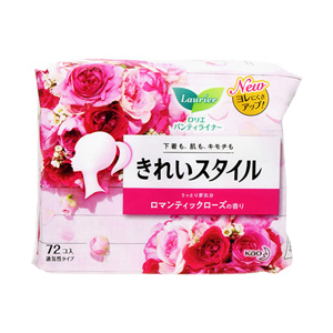 Laurier Pantyliner Beauty Style, Romantic Rose Fragrance