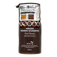 Royd Color Shampoo, Virgin Brown