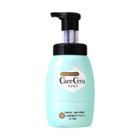 ROHTO CareCera Highly Moisturizing Foam Body Wash, Pump Bottle 450ml