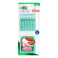 GUM Interdental Brush, I-Shape 20P L