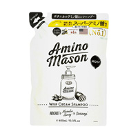 Amino Mason Moist Whip Cream Shampoo, Refill