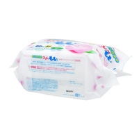 Wakodo Hand & Mouth Wipes, Funwari Momo-chan
