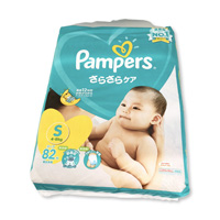 Pampers Sarasara Care, Tape Type, S