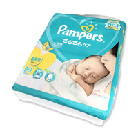 Pampers Sarasara Care, Tape Type, Newborn