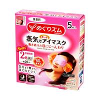 MegRhythm Steam Hot Eye Mask, Unscented, 5