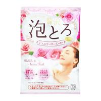 Oyumonogatari Luxurious Thick Lather Bath Additive, Jewelry Rose Fragrance