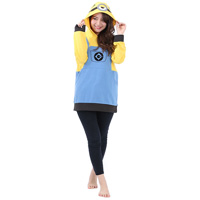 Minions Mel Hoodie, Yellow, One-Size-Fits-All