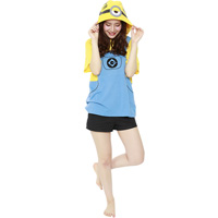 Minions Mel T-Shirt, Yellow, One-Size-Fits-All