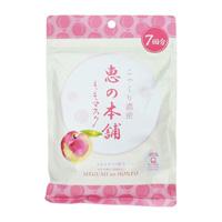 megumi no honpo Fruit Mask, Peach (Extra-Moist)