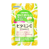 Orihiro Tasty Chewable Supplement, Vitamin C, 120