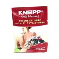 Kneipp Bath Salts, Gute Erholung Wintergreen & Wacholder Fragrance