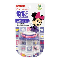 Pigeon Pacifier, Minnie, 3 Months & Older, M Size