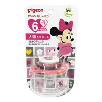 Pigeon Pacifier, Minnie, 6 Months & Older, L Size