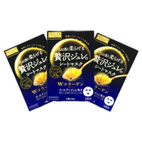 Luxurious Jelly, Premium Puresa Golden Jelly Mask, Collagen, 3-Pack, Set Of 3