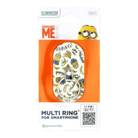 Despicable Me Minions Multi Ring, Banana Pattern