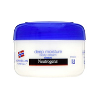 Neutrogena Norwegian Formula Deep Moisture Body Cream, For Dry Skin, Mildly Scented
