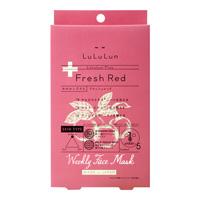 Lululun 페이스 마스크 루루룬 플러스 Fresh Red