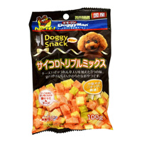Doggy Snack, Value, Diced Triple Mix (For All Dog Types)