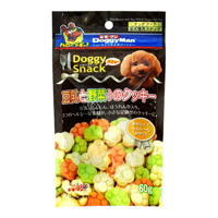 Doggy Snack 밸류 두유와 야채가 들어간 쿠키(전견종용)