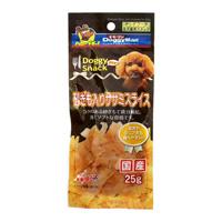 Doggy Snack 밸류 사낭이 들어간 닭 가슴살 스라이스(전견종용)
