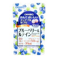 Tasty Chewable Supplement, Blueberry & Lutein