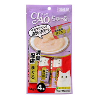 CIAO Chu-ru For Odor Removal, Tuna