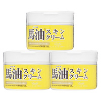 Loshi Moist Aid Horse Oil Skin Cream, Set Of 3