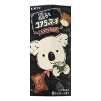 Lotte Black Koala's March, Cocoa & Milk 48g