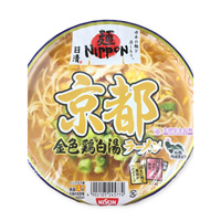 Nissin Mennippon Kyoto Gold Chicken Plain Soup Ramen 114g