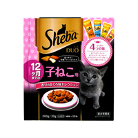 Sheba Duo For Kittens Up To 12 Months, Fragrant Tuna Flavor Selection (200g)