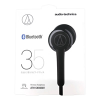 audio-technica Bluetooth Wireless Headphones, Black